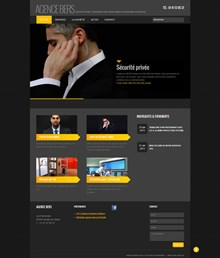 Un site high tech sous Wordpress